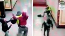 Captado en video: violento ataque contra empleado de SEPTA