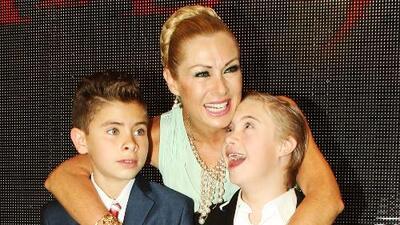 Lety Calderón confiesa que su hijo Luciano es un coqueto (y hasta le propuso matrimonio a una actriz)