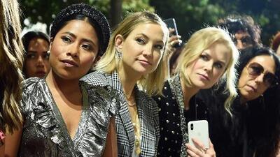 Las fotos de Yalitza Aparicio con Nicole Kidman y Kate Hudson: aquí te contamos qué hacían juntas