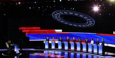 Cómo y cuándo ver el cuarto debate demócrata