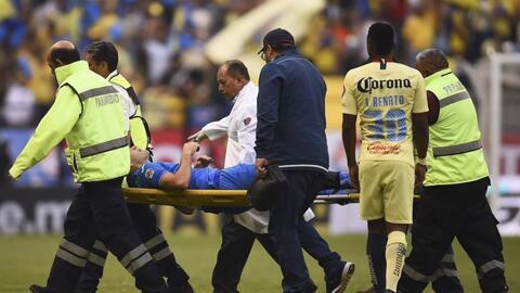 Sería baja sensible: Pablo Aguilar, esguinzado tras el Cruz Azul-América