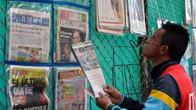 El reto de los periodistas colombianos: de sufrir la guerra a contar la paz