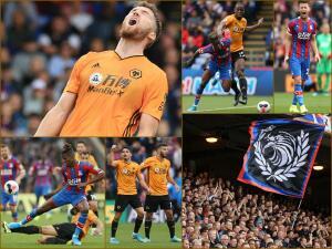 En fotos: los Wolves de Raúl Jimenez logran empatar ante el Crystal Palace