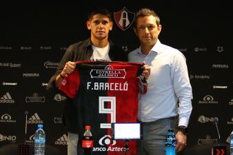 En fotos: qué tiene Facundo Barcelo, el refuerzo presentado por Atlas para la Liga MX