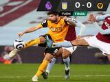 Wolverhampton deja escapar el triunfo ante Aston Villa