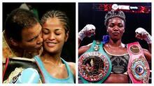 La hija de Muhammad Ali está dispuesta a enfrentar a Claressa Shields