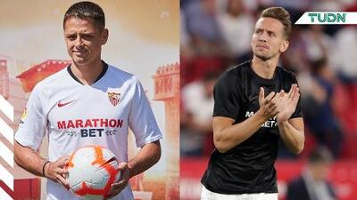 Duras críticas para De Jong en el Sevilla, piden a Chicharito