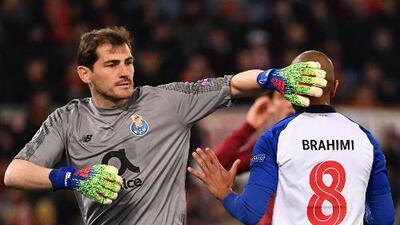 Casillas y el Porto confían en darle la vuelta a la Roma en la Champions