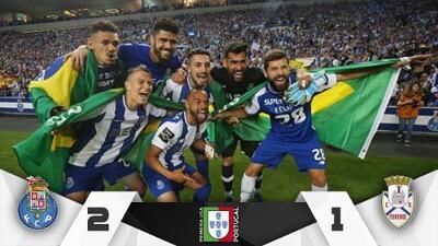 Con Reyes y Herrera titulares, el Oporto celebra su título ante el Feirense