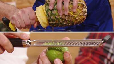 Ingeniosos artículos de cocina para 'espiralizar' una piña o conseguir la ralladura de limón perfecta