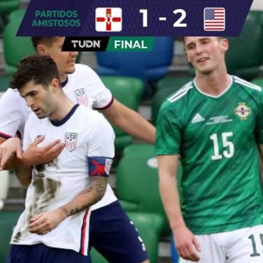 Pulisic y Reyna dan triunfo a Team USA sobre Irlanda del Norte