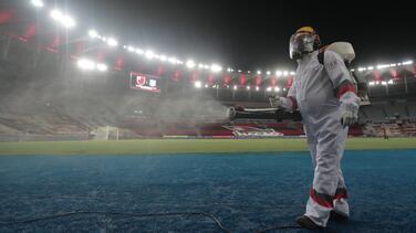 Final de Libertadores y de Sudamericana se jugará sin público