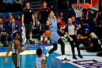 En fotos: las Rising Stars de la NBA se lucen en Charlotte