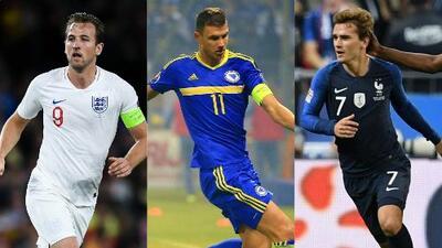 ¡Temible! Kane, Džeko y Griezmann lideran el 11 ideal de la Jornada 4 de la Nations League