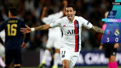 El 'Ángel' parisino deslumbró a un sombrío Real Madrid