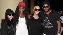Blac Chyna y Amber Rose de fiesta en Trinidad
