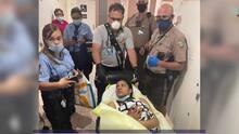 Una joven hondureña da a luz a su bebé dentro de un baño del aeropuerto de Miami