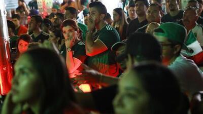 Mexicanos en Chicago lamentan la eliminación de su selección en el Mundial de Rusia
