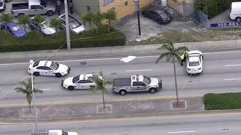 Una persona muere en un accidente de tráfico en Okeechobee  Road