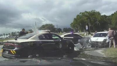 En video: Tres mujeres desnudas desatan una intensa persecución policial en Florida