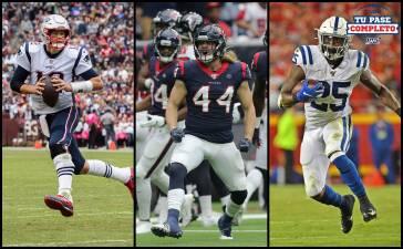 Los resultados de la Semana 5 en la NFL