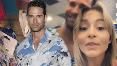 Angelique Boyer molesta a Sebastián Rulli luego de que el actor se llevara la maleta equivocada al hotel