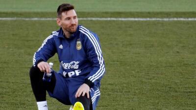 El regreso de Messi a la selección de Argentina sería con este once inicial