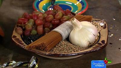 Receta de Lentejas para la buena suerte con el Chef Pepín