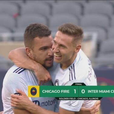 Se enciende el Chicago Fire y derrota 1-0 a Inter Miami