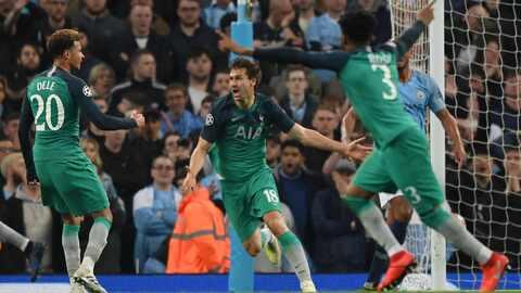 Manchester City 4-3 Tottenham – GOLES Y RESUMEN – VUELTA CUARTOS DE FINAL – UEFA Champions League