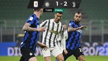 Cristiano y la Juve le ganaron al Inter en la ida de 'Semis'