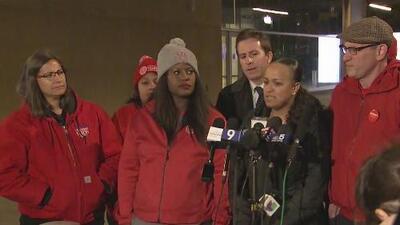 Termina el sexto día de huelga en Chicago con algo de progreso entre los maestros y la ciudad