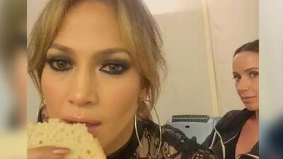 JLo podría pasarse todo el día comiendo pan ¡sin engordar!