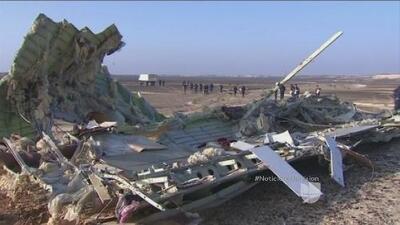 Aumentan sospechas de que el accidente del avión ruso fue un acto terrorista