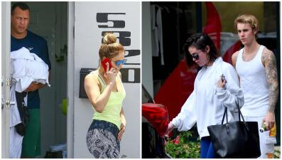 Selena Gomez y Justin Bieber les siguen los pasos a Jennifer López y Alex Rodríguez