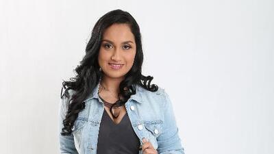 Lluvia Vega quedó eliminada en la semifinal de La Reina de la Canción