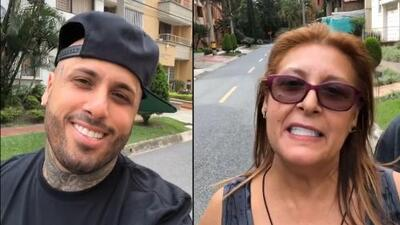 Las mamás y la tecnología: mira el tierno 'error' de la mamá de Nicky Jam