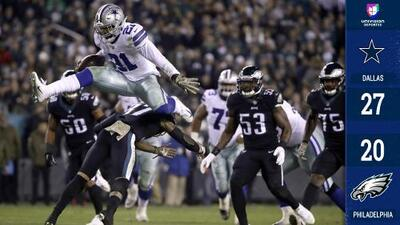 Cowboys sorprende pasando por encima de Philadelphia con partidazo de Ezekiel Elliott
