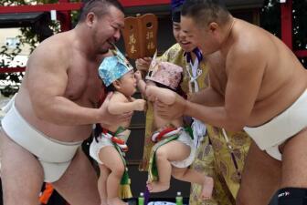 Antiguo ritual japonés de berrinches y llanto