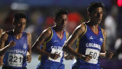 Colombia se lleva los oros en los 5 mil m de Barranquilla 2018