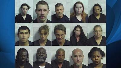 Operativo antidrogas termina con 15 detenidos al sur de Georgia