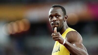 La histórica imagen con la que Bolt fue homenajeado en su adiós
