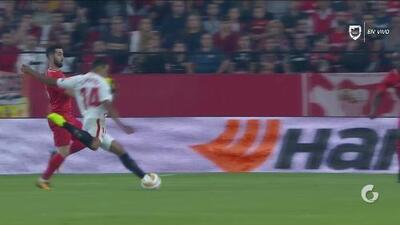 ¡Fiesta en Sevilla! Gol de Muriel, que consigue el 4-0