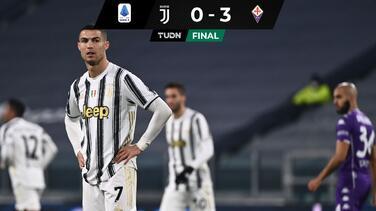 Fiorentina humilla a Juventus y la golea con todo y CR7 en la cancha
