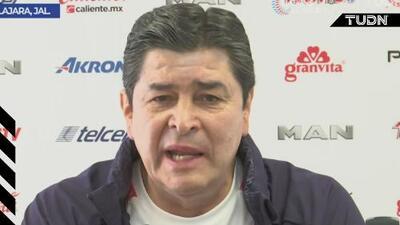 """Luis Fernando Tena: """"Es gratificante que se expresen así del técnico"""""""