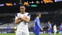 Tottenham cumple y se mete a Octavos de Europa League