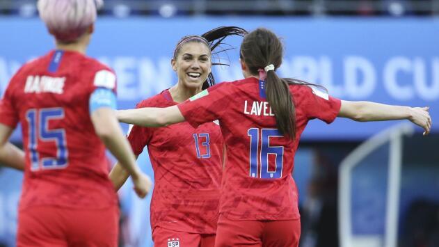 El Team USA femenino batió récord en mundiales: humilló 13-0 a Tailandia