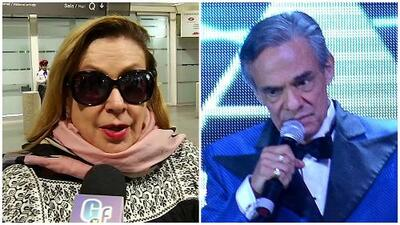 """Laura Zapata cuenta que vio cómo José José hacía """"gran esfuerzo"""" sobre el escenario en el musical 'Amar y querer'"""