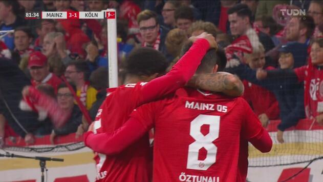 ¡Se acabó! Öztunali sube al marcador el 3-1 del Mainz