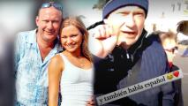 Irina Baeva muestra como pocas veces a su papá hablando español y revela un deseo que no se le cumplió